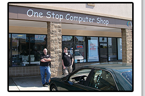 This is a picture of One Stop Computer Shop at 326 SW Blue Parkway, 64063 in Lees Summit MO.